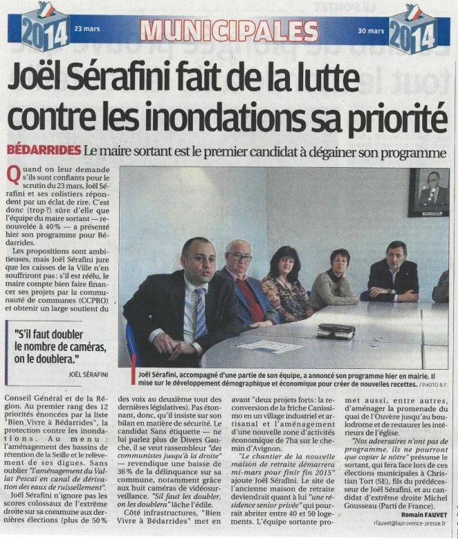 140214 Prov Presentation programme Bien vivre a Bedarrides