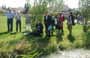 Action de défense de la ligne d'eau le 31 mai 2014